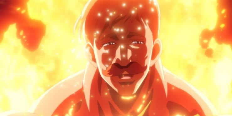 4й кадр из 20 серии аниме Семь смерных грехов