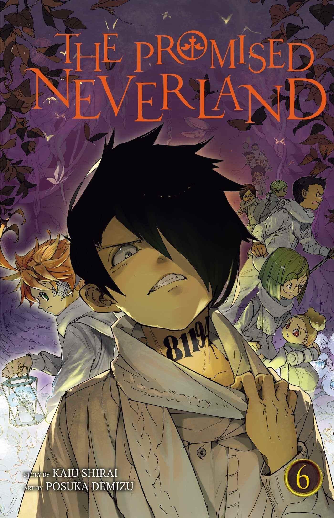 Аниме обещанный Неверленд плакат, картинка и арт 13
