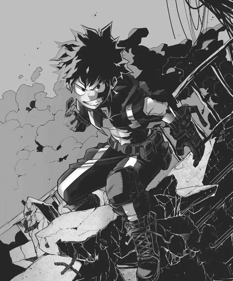 Арт новой причуды Изуку, Черный хлыст (9)