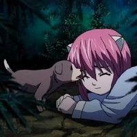 Эльфийская песнь, красивые картинки из аниме (4)