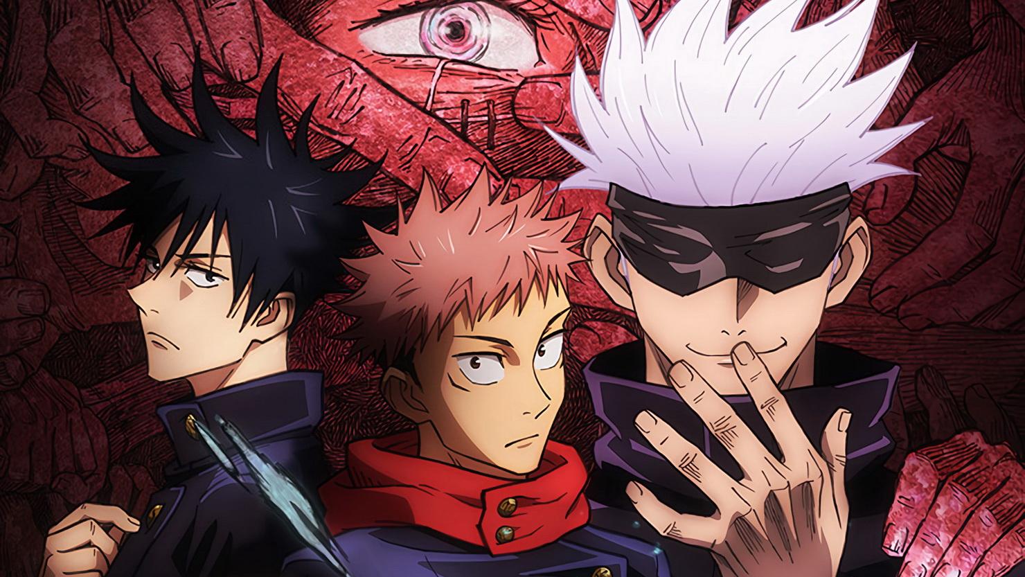 Главные герои аниме Магическая битва