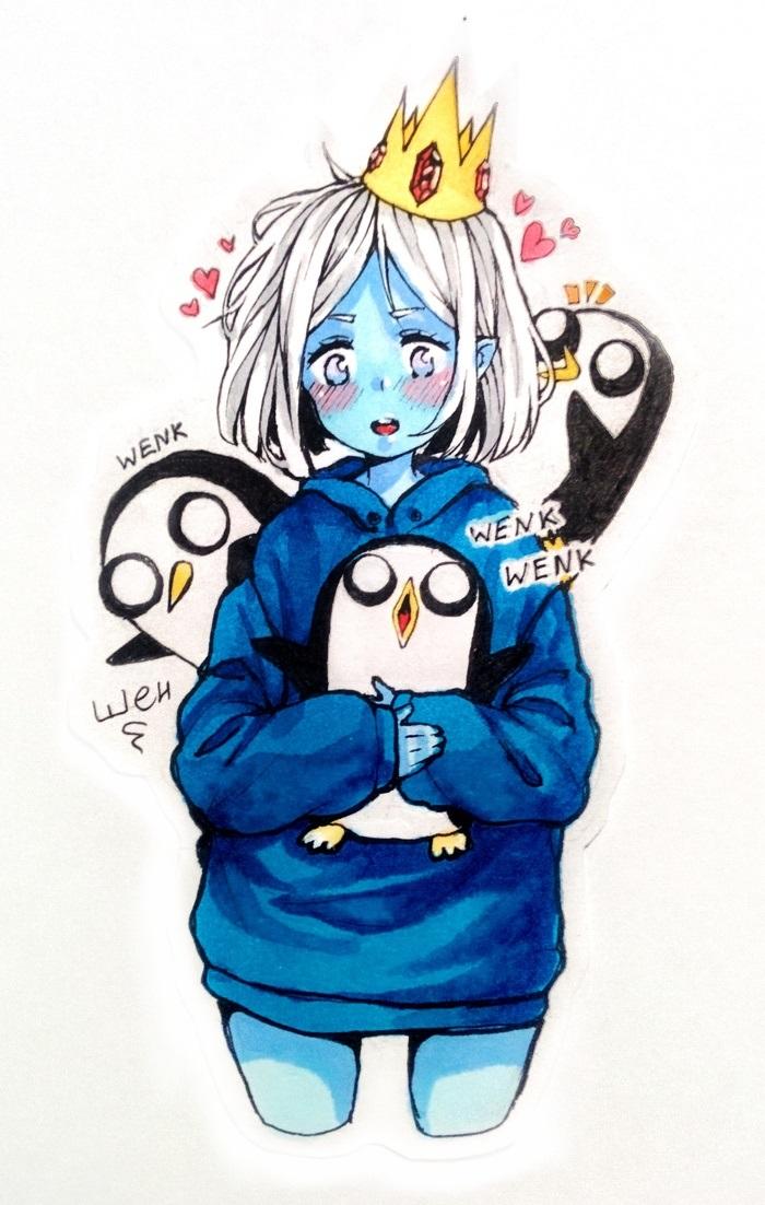 Картинки Время Приключений в стиле аниме (10)