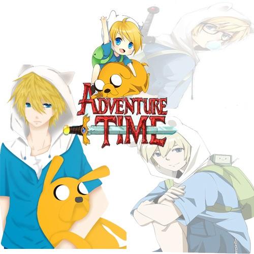 Картинки Время Приключений в стиле аниме (4)