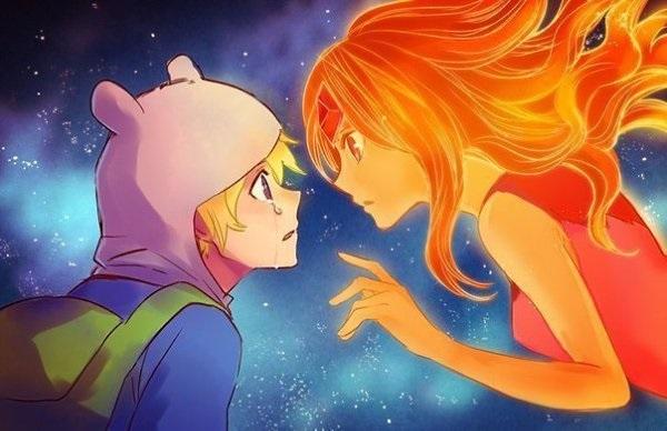 Картинки Время Приключений в стиле аниме (5)