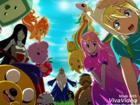 Картинки Время Приключений в стиле аниме (9)