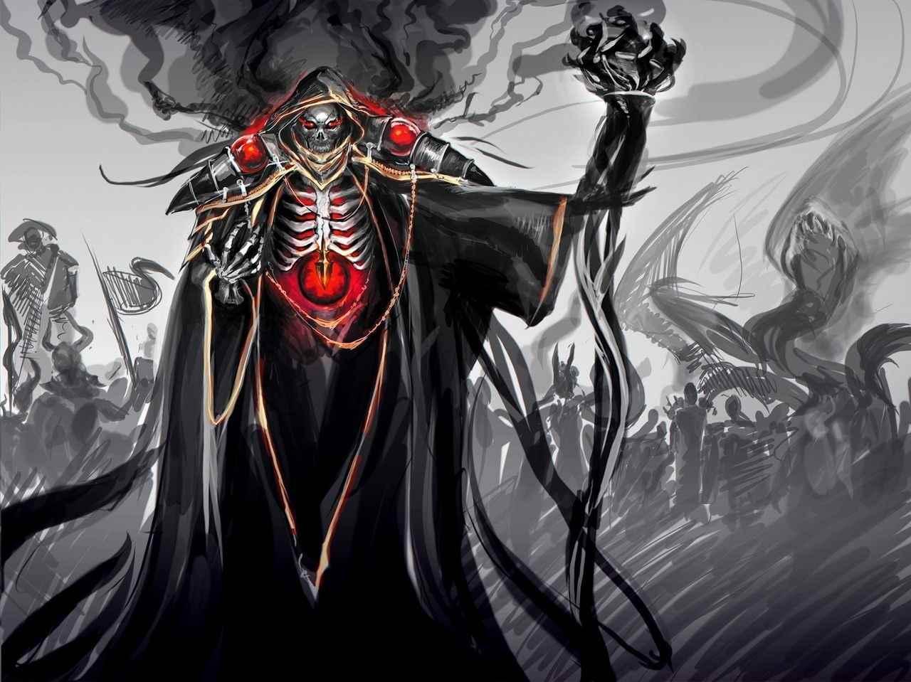 Картинки, арт владыка демонов аниме 13