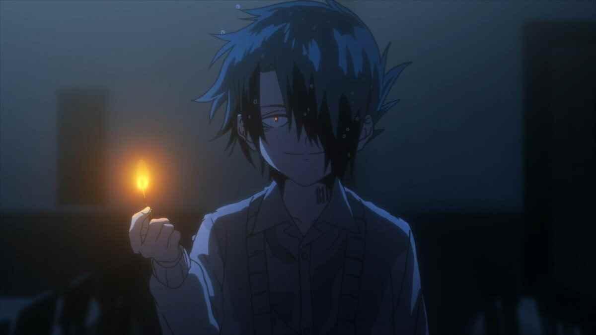 Картинки рей из аниме обещанный неверленд 04