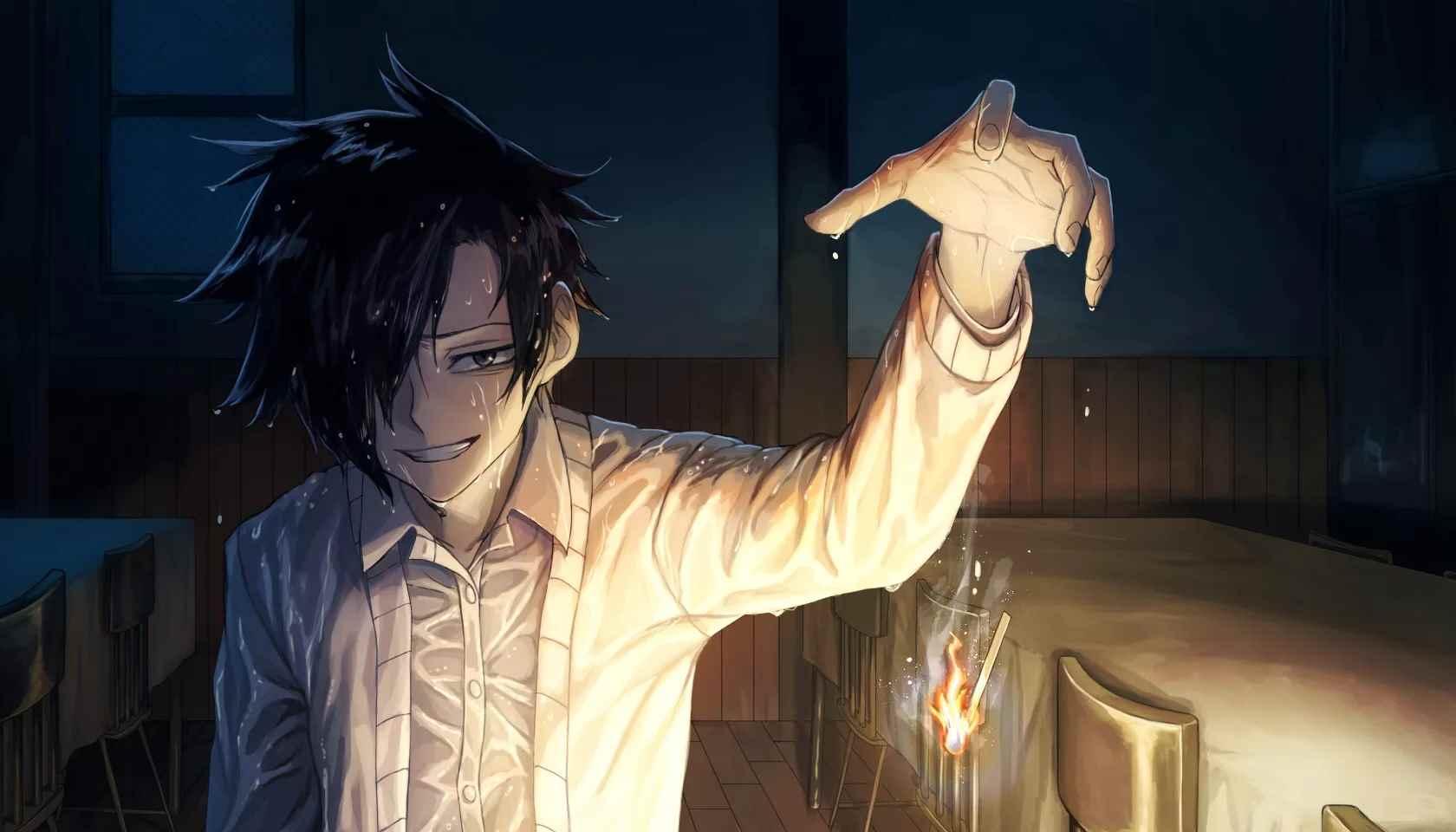 Картинки рей из аниме обещанный неверленд 14