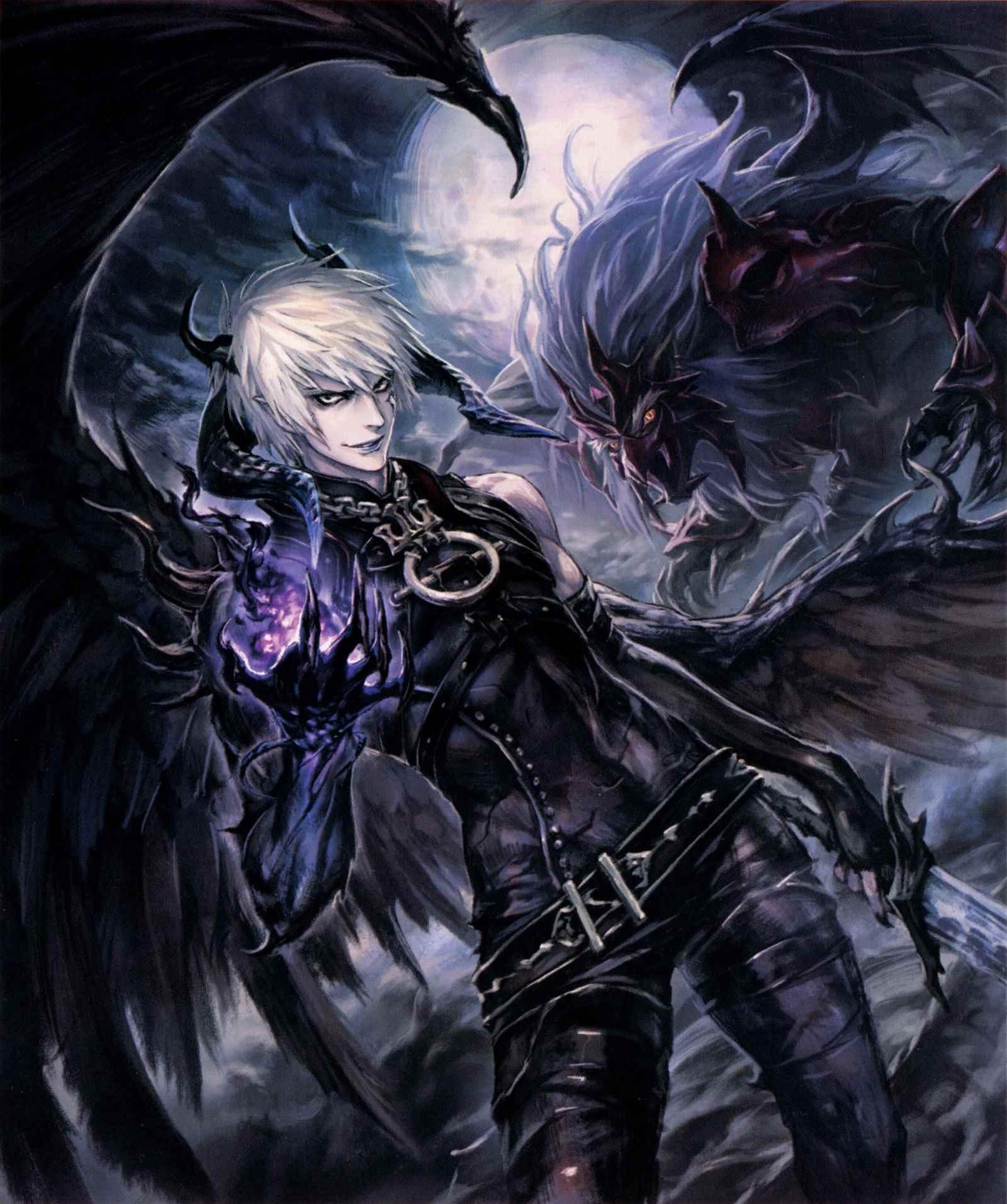 Классные картинки аниме парней демонов 01