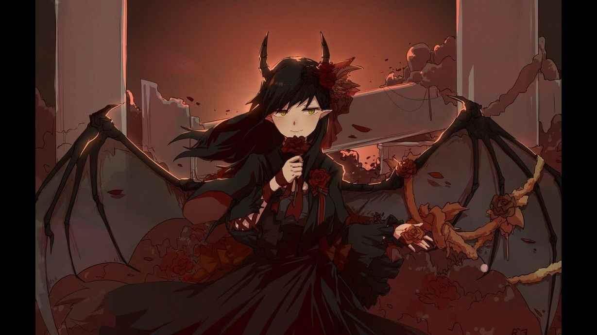 Классные картинки аниме парней демонов 07
