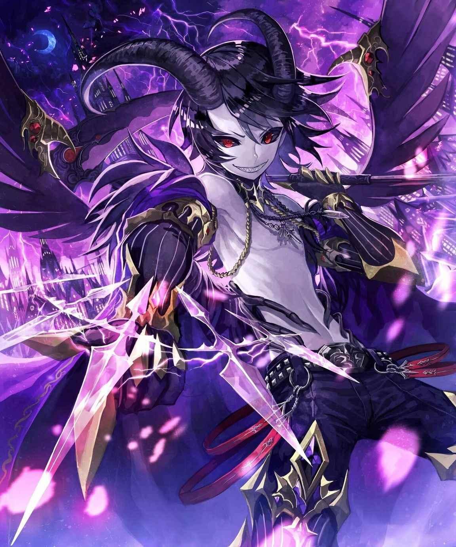 Классные картинки аниме парней демонов 14