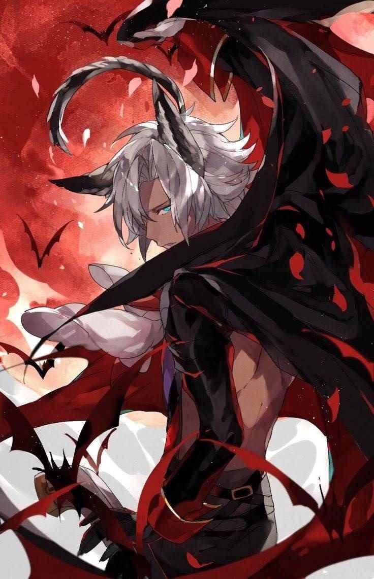 Классные картинки аниме парней демонов 17