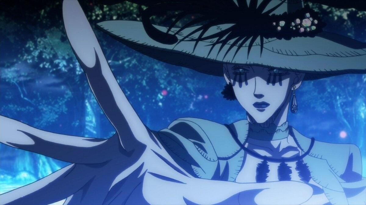 Королева ведьм из аниме черный клевер
