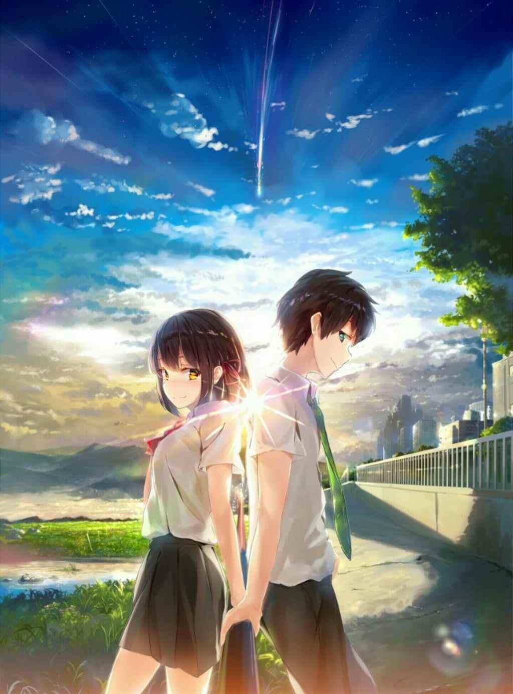 Красивые фото аниме парней и девушек, картинки 04