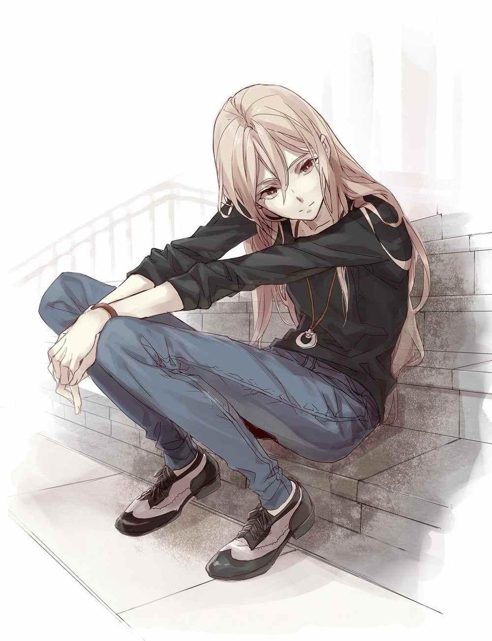 Красивые фото аниме парней и девушек, картинки 14