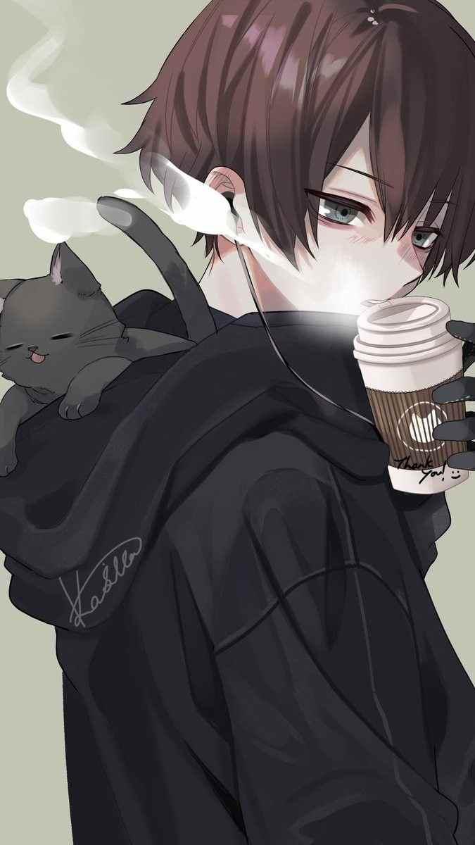 Красивые фото аниме парней и девушек, картинки 18