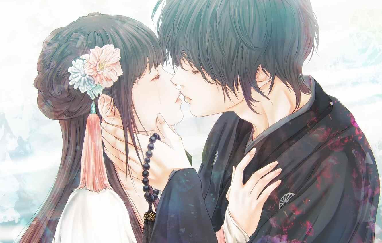 Красивые фото аниме парней и девушек, картинки 22