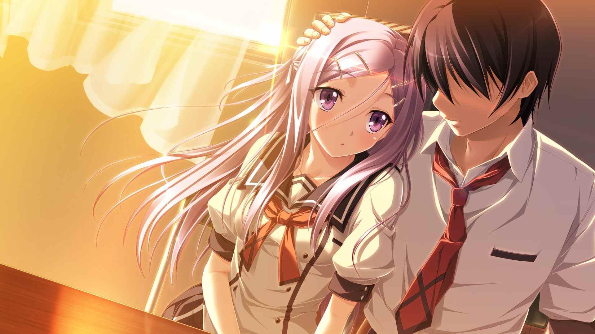 Красивые фото аниме парней и девушек, картинки 23