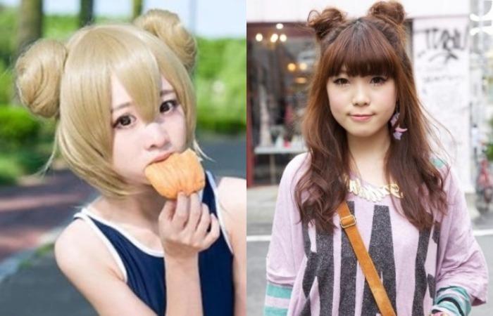 Красивые идеи прически для девочек из аниме (8)