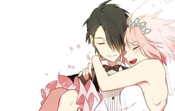 Красивые картинки Сакура и Саске свадьба (21)
