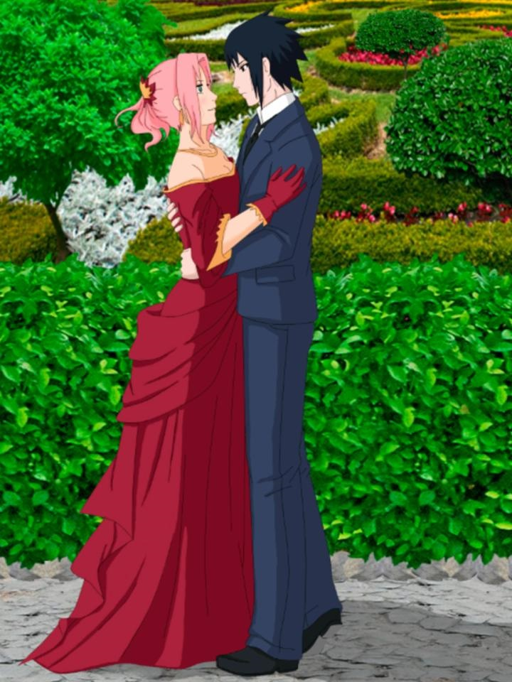 Красивые картинки Сакура и Саске свадьба (3)