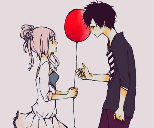 Красивые картинки аниме, где персонажи целуются (14)