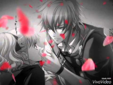 Красивые картинки аниме, где персонажи целуются (15)