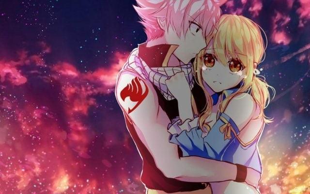 Красивые картинки аниме, где персонажи целуются (4)
