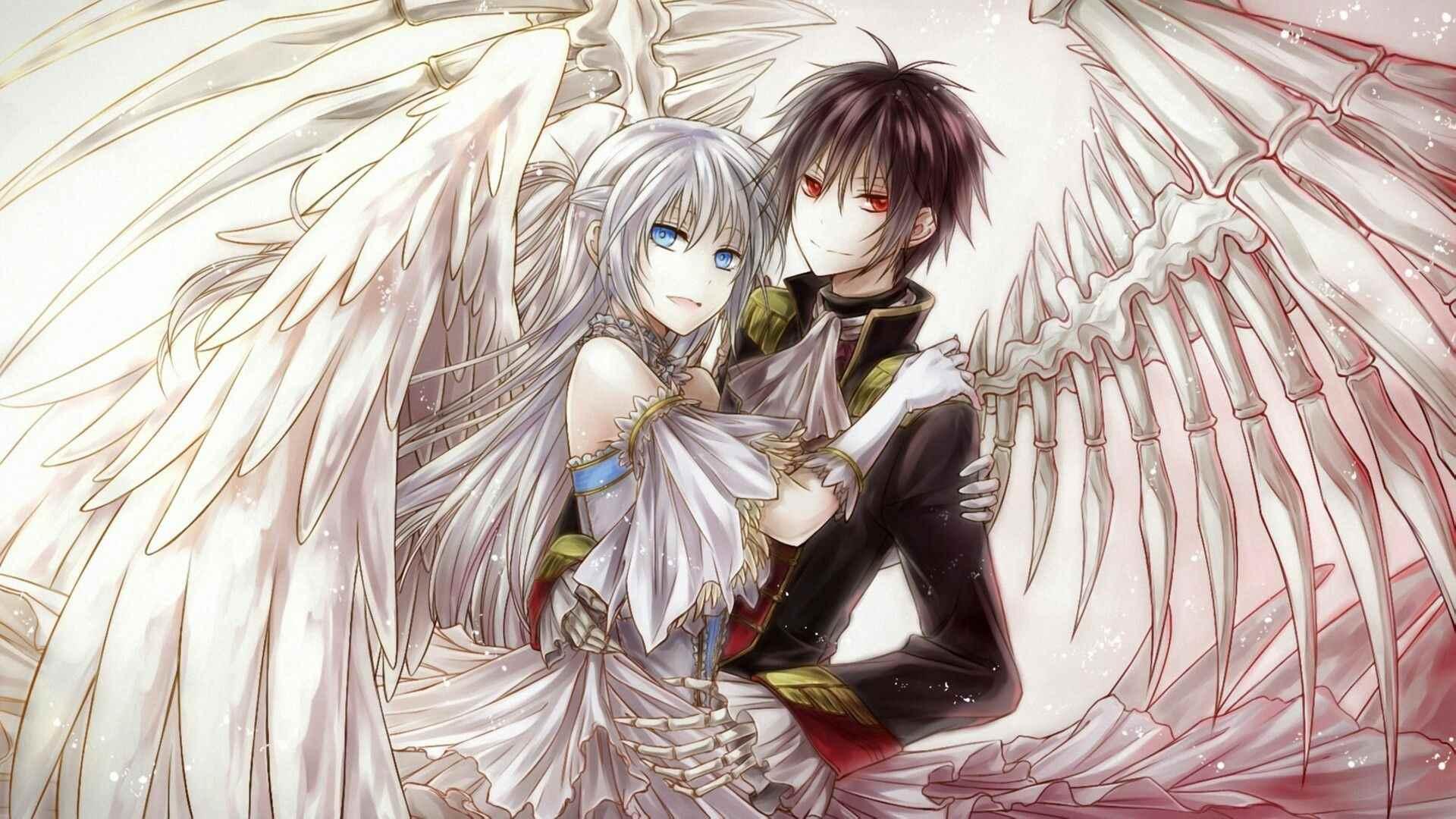 Красивые картинки аниме про демонов и любовь 01