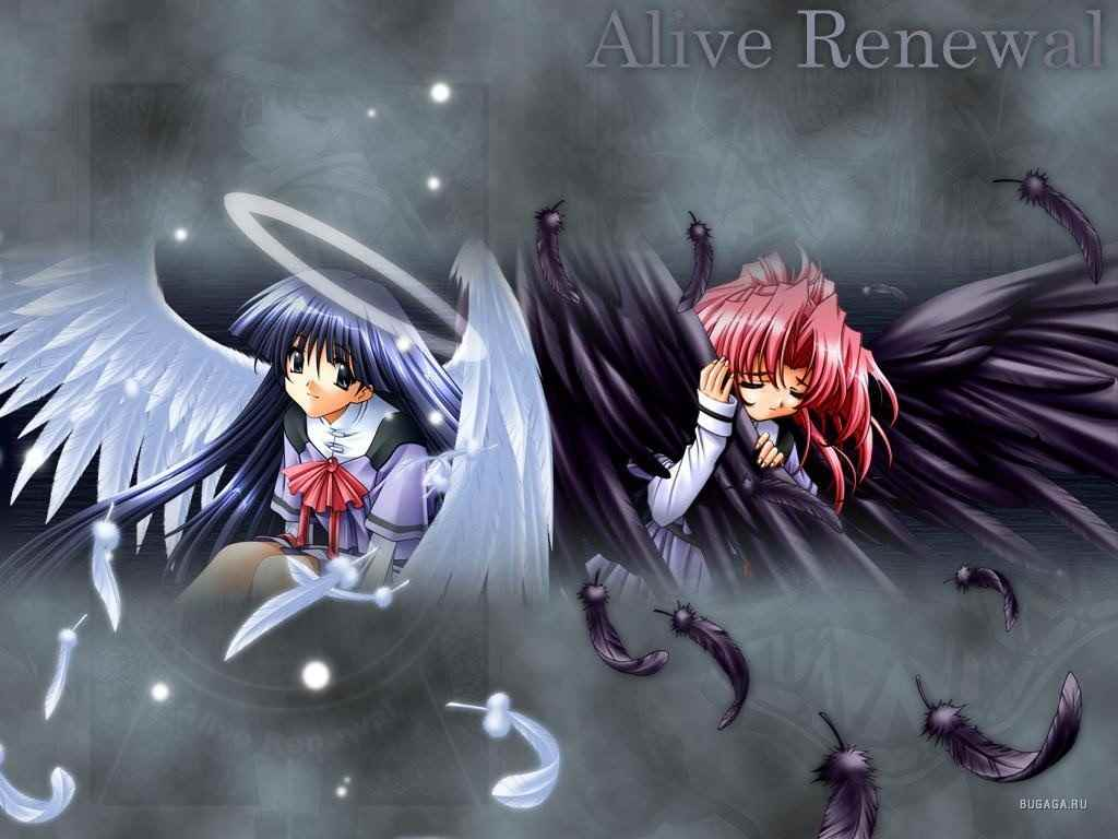 Красивые картинки аниме про демонов и любовь 06