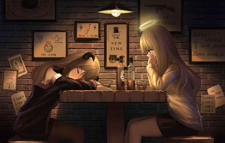 Красивые картинки аниме про демонов и любовь 09
