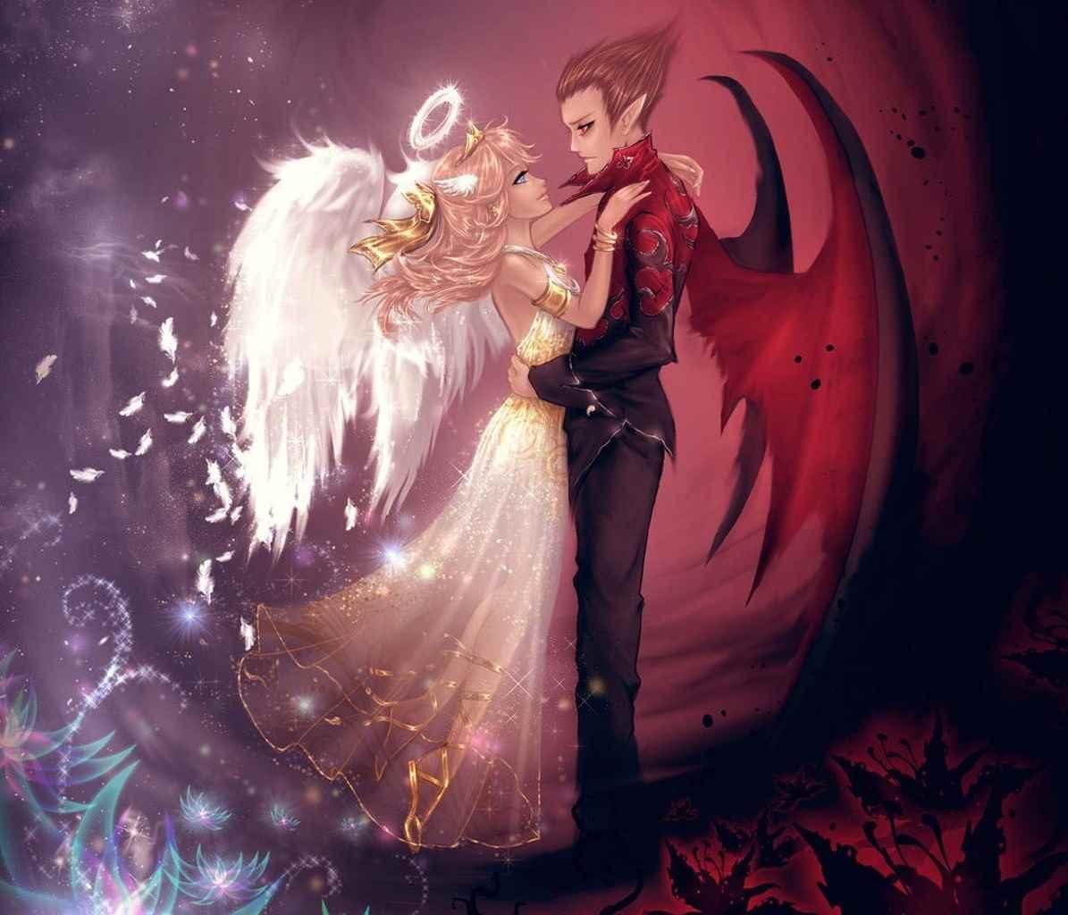 Красивые картинки аниме про демонов и любовь 10