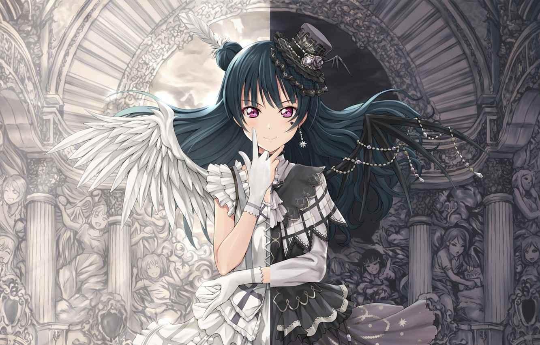 Красивые картинки аниме про демонов и любовь 16