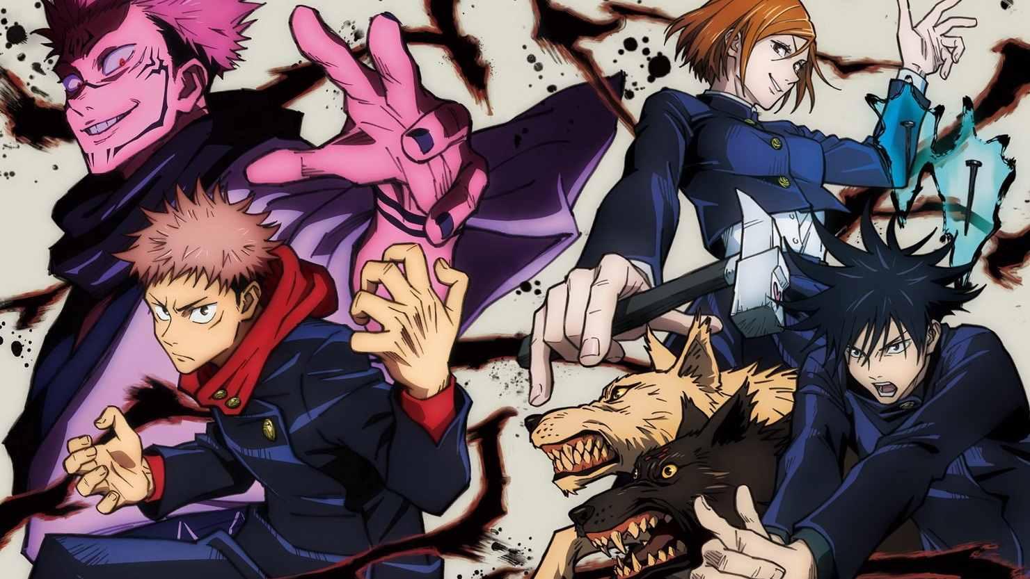 Крутое аниме магическая битва манга, картинки 17
