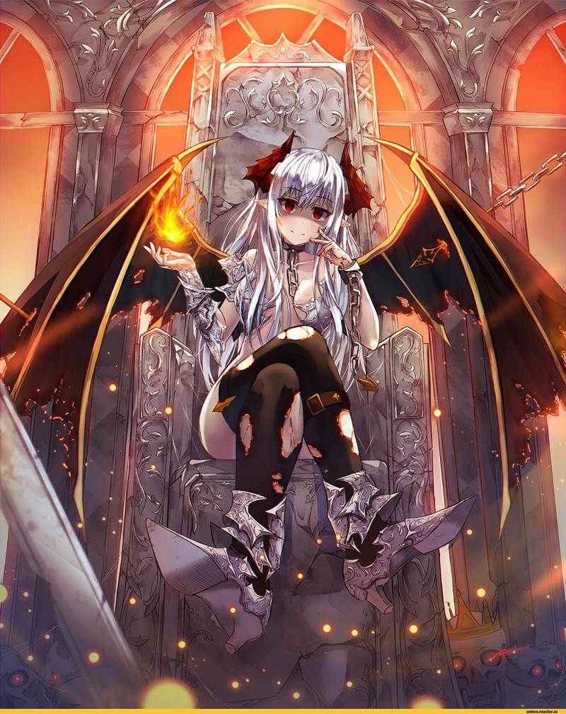 Крутые картинки аниме демоны, бесплатно 04