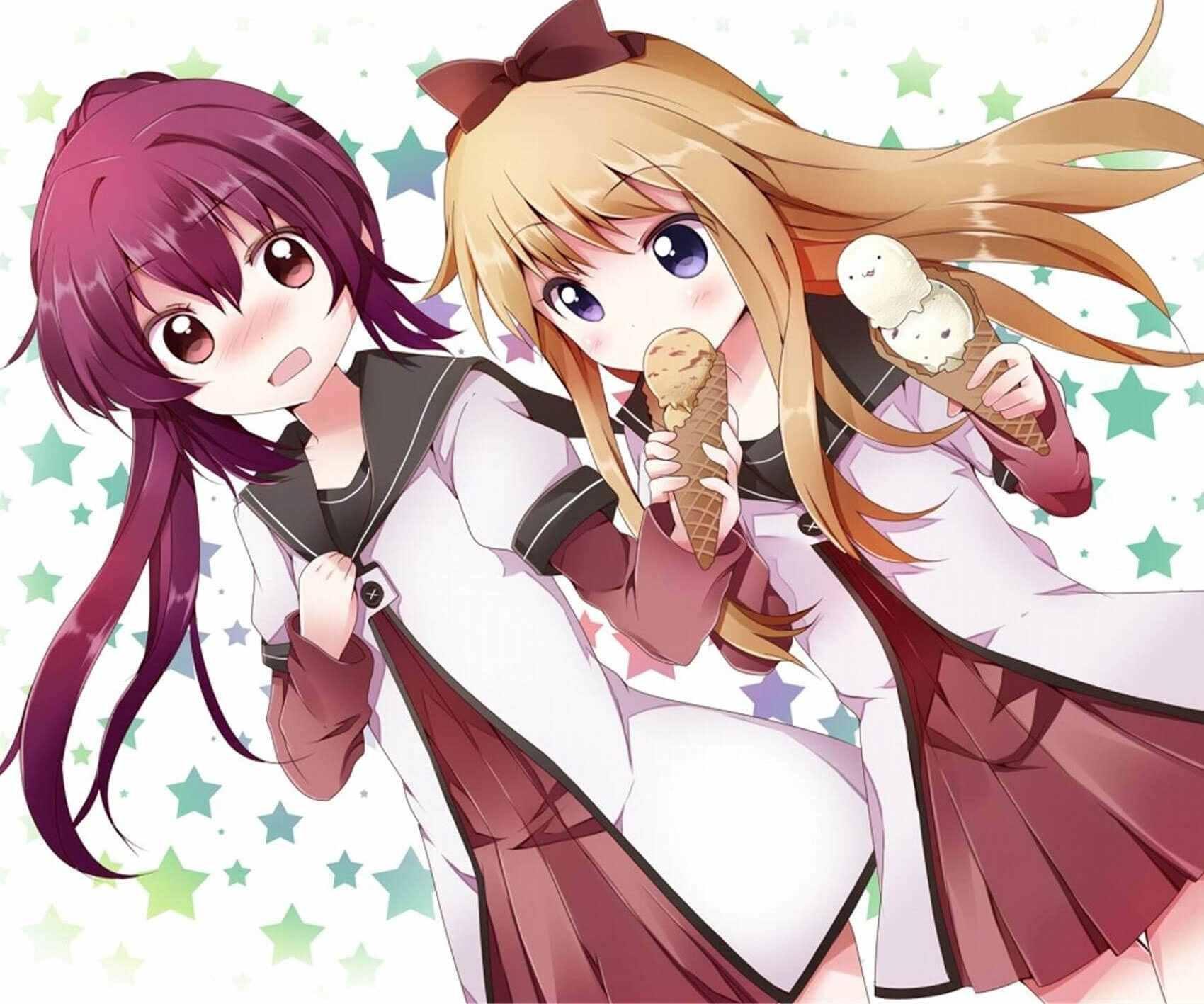 Лучшие аниме аватарки для подруг на всегда 11