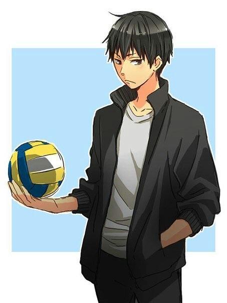 Лучшие картинки Волейбол аниме про Кагеяму (12)