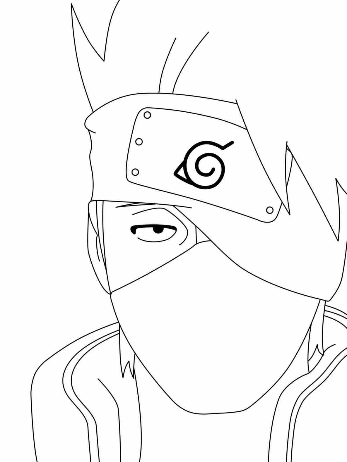 Лёгкие аниме картинки для срисовки, скачать бесплатно 14