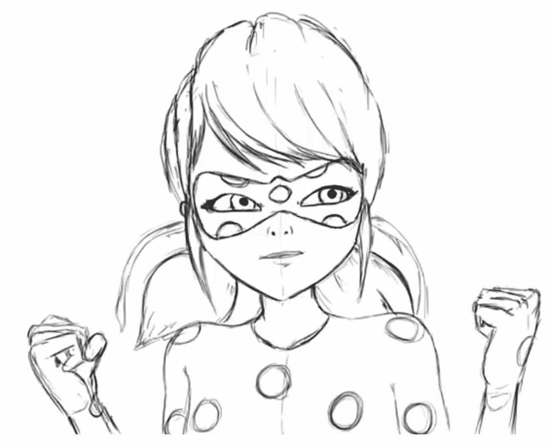 Лёгкие аниме картинки для срисовки, скачать бесплатно 21