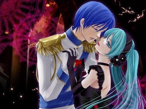 Мику и Кайто любовь   сборка артов (12)