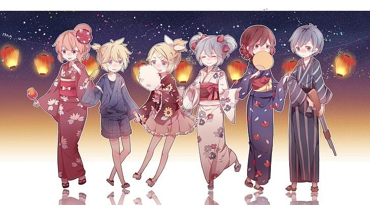 Мику и Кайто любовь   сборка артов (3)