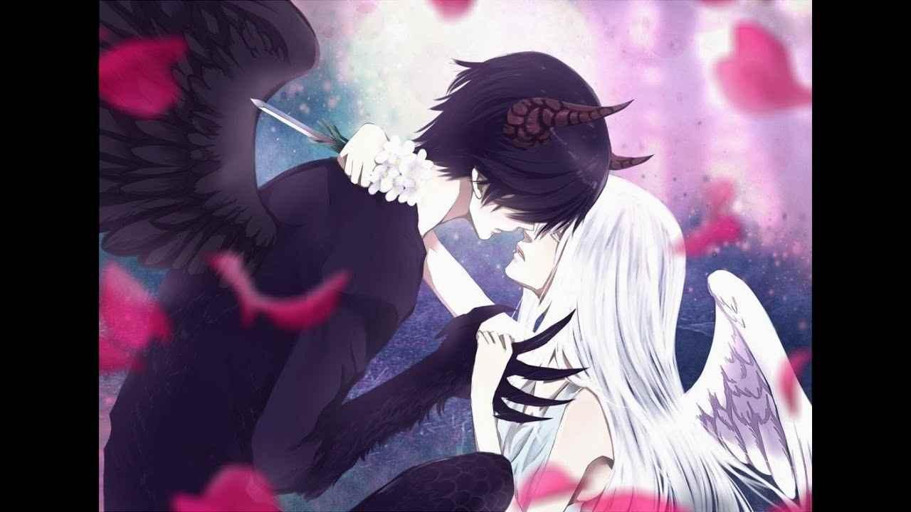 Милые картинки про любовь демона, аниме 12
