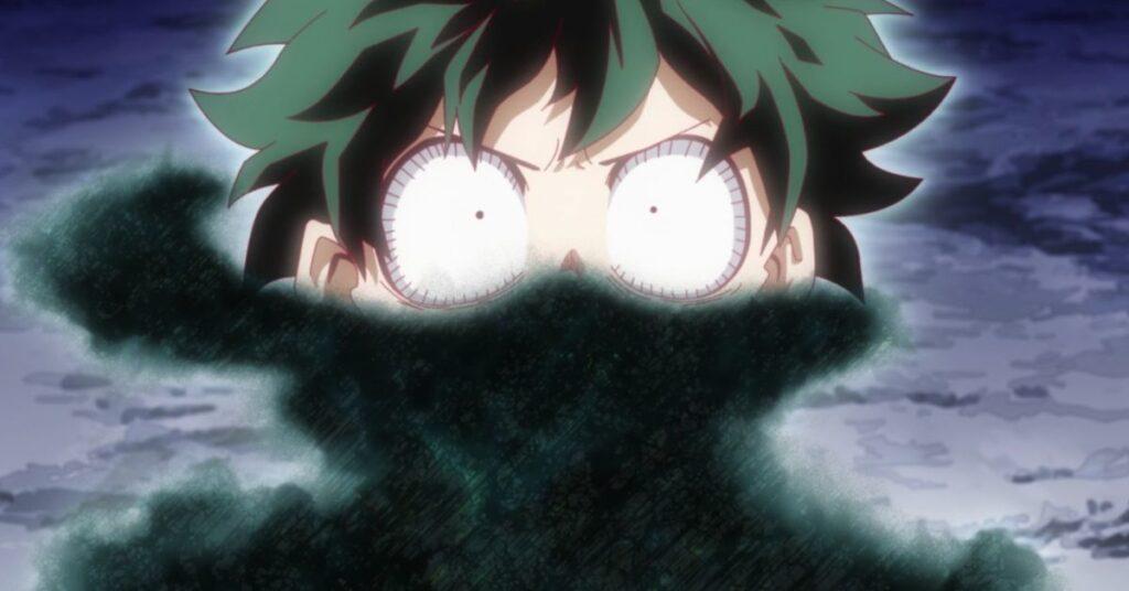 Моя геройская академия сообщает, что Изуку получит новые причуды от одного за всех