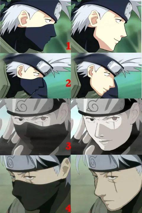 На фотках лицо какаши без маски (3)