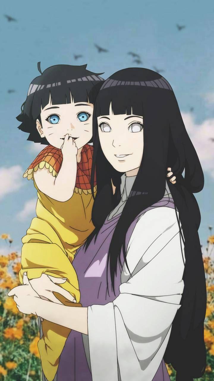Наруто и Хината, красивые арты их любви (11)