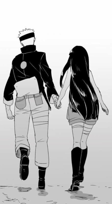 Наруто и Хината, красивые арты их любви (16)