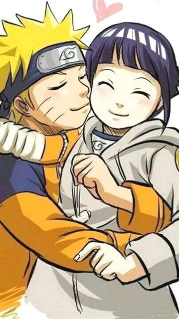 Наруто и Хината, красивые арты их любви (21)