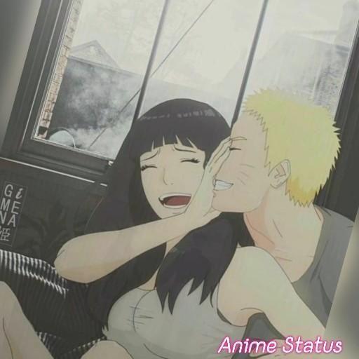 Наруто и Хината, красивые арты их любви (28)