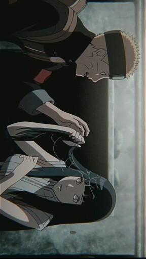 Наруто и Хината, красивые арты их любви (29)