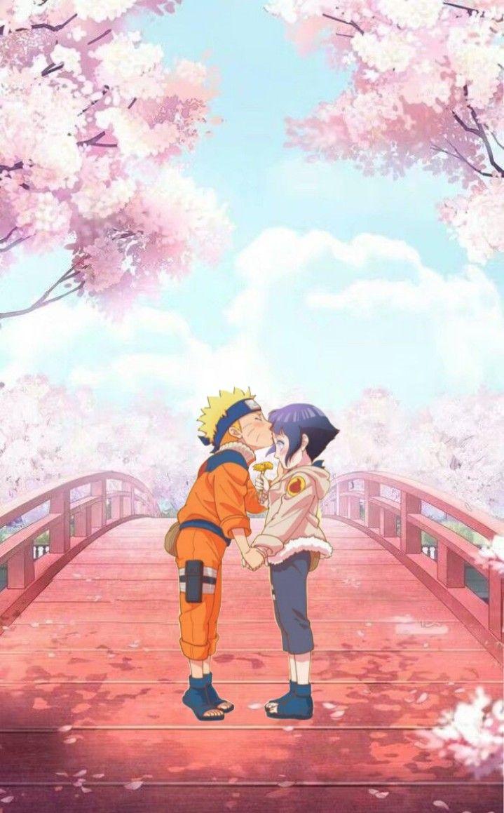 Наруто и Хината, красивые арты их любви (6)